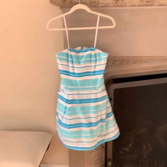 Lilly Pulitzer spring strapless dress